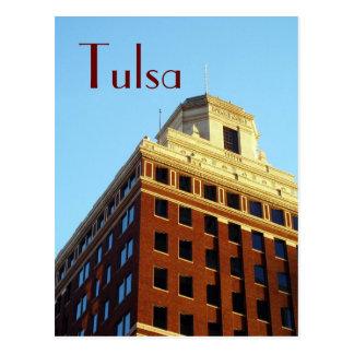 Carte postale CORRECTE de Tulsa