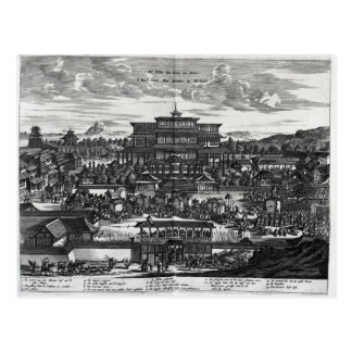 Carte Postale Cortège de Macao, une illustration