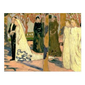 Carte Postale Cortège de mariage, c.1892-93