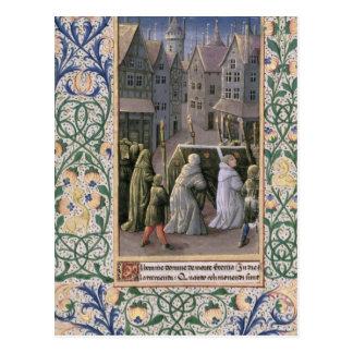 Carte Postale Cortège d'enterrement