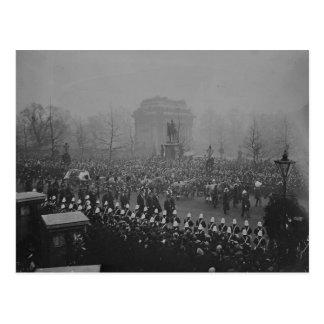 Carte Postale Cortège funèbre de la Reine Victoria