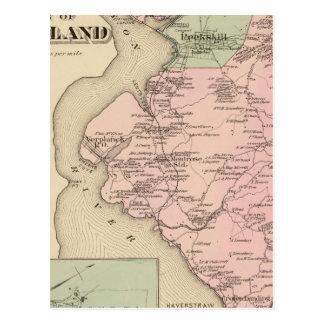 Carte Postale Cortland, Croton débarquant, New York