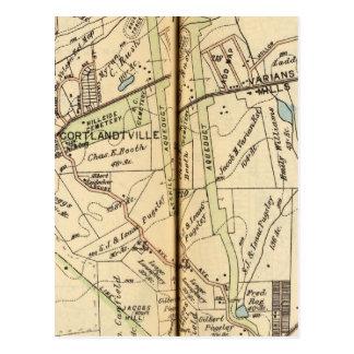 Carte Postale Cortlandt, New York