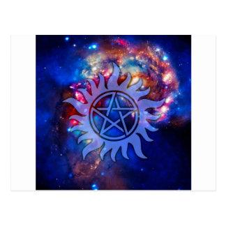 Carte Postale Cosmos occulte