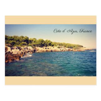 Carte Postale Cote d'Azur, Antibes, France