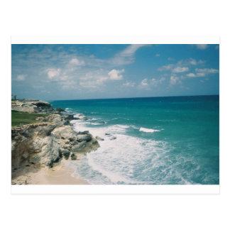 Carte Postale Côte de Cancun