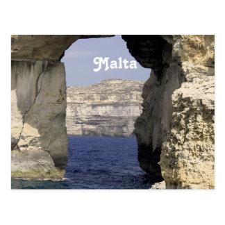 Carte Postale Côte de Malte