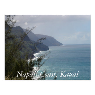 Carte Postale Côte de Napali, Kauai
