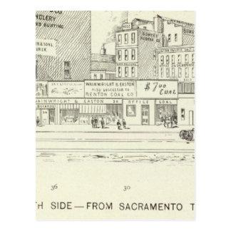 Carte Postale Côté nord du marché, de Sacramento et de