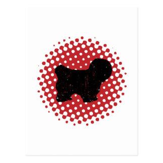 Carte Postale Coton de Tulear