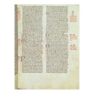 Carte Postale Cott Nero D II f.114 Adrian IV
