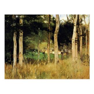Carte Postale Cottage en Normandie par Berthe Morisot