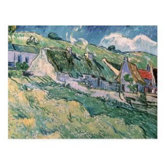 Carte Postale Cottages de Vincent van Gogh | à l'Auvers-sur-Oise