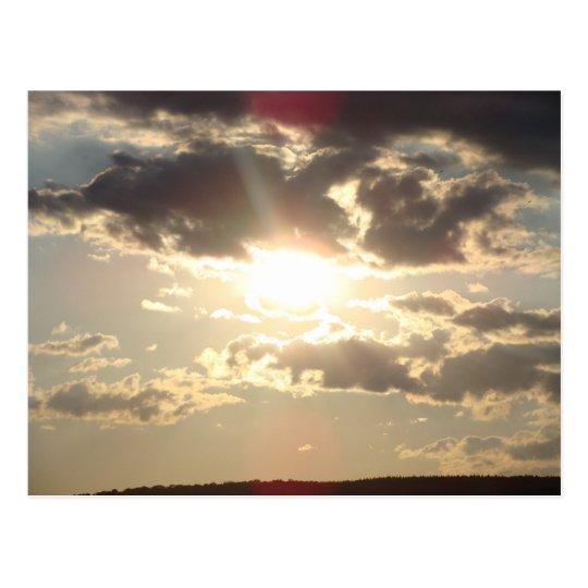 Carte Postale Couché de Soleil