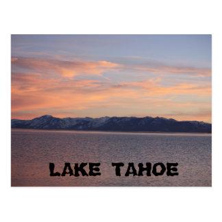 Carte Postale Coucher du soleil 1 de Tahoe