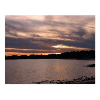 Carte Postale Coucher du soleil à l'île de Sherwood