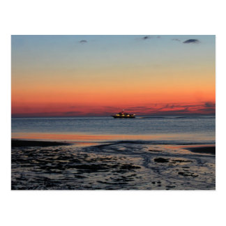 Carte Postale Coucher du soleil au point Provincetown Cape Cod