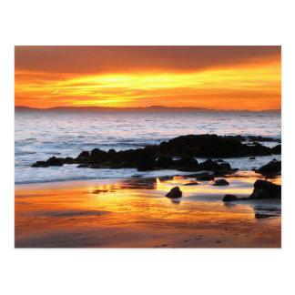 Carte Postale Coucher du soleil de Catalina