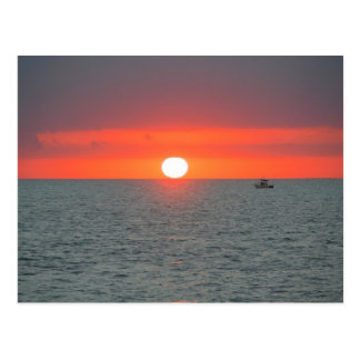 Carte Postale Coucher du soleil de Key West