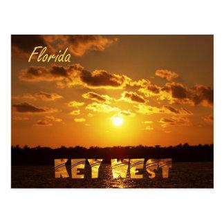 Carte Postale Coucher du soleil de Key West