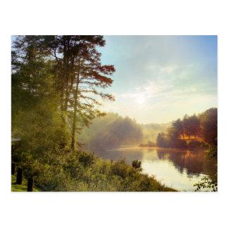 Carte Postale Coucher du soleil de la Caroline du Nord
