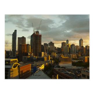 Carte Postale Coucher du soleil de Melbourne