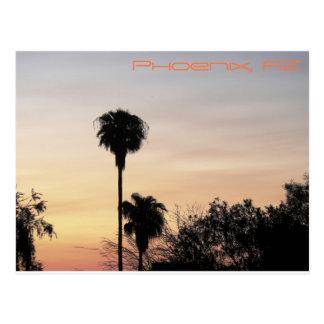 Carte Postale Coucher du soleil de Phoenix