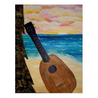 Carte Postale coucher du soleil d'Hawaï