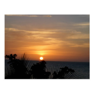 Carte Postale Coucher du soleil d'Ocho Rios Jamaïque