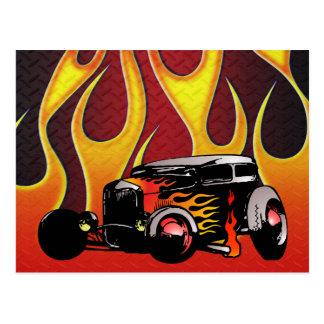Carte Postale Couleur Variante 2 de 330 hot rod