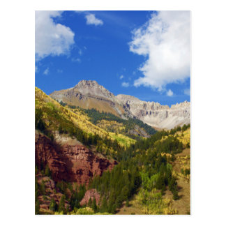 Carte Postale Couleurs d'automne de vallée de tellurure