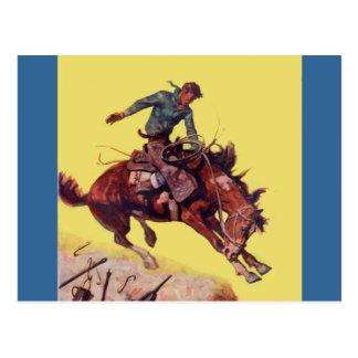 Carte Postale Coup sur le cowboy