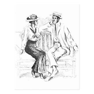 Carte Postale Couples romantiques