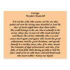 Carte Postale Courage