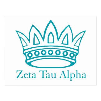 Carte Postale Couronne de ZTA avec ZTA