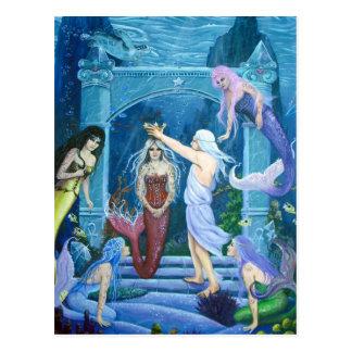 Carte Postale Couronnement de Danseur-Le d'étoile d'Ariel par
