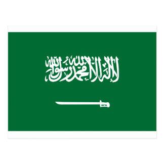 Carte Postale Coût bas ! Drapeau de l'Arabie Saoudite
