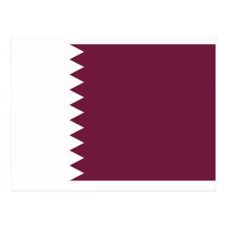Carte Postale Coût bas ! Drapeau du Qatar