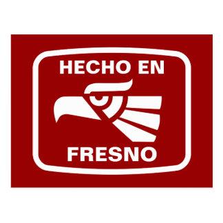 Carte Postale Coutume de personalizado d'en Fresno de Hecho