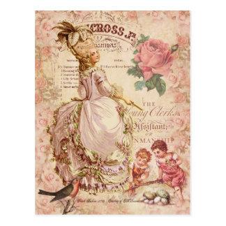 Carte Postale Couture de Mademoiselle