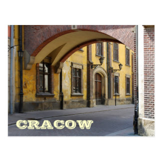 Carte Postale Cracovie
