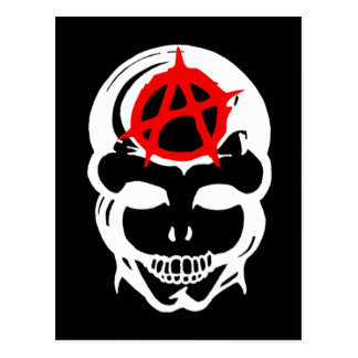 Carte Postale Crâne d'anarchie