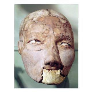 Carte Postale Crâne, de Jéricho, 7000-6000 AVANT JÉSUS CHRIST