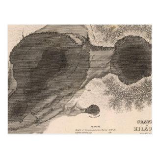 Carte Postale Cratère de Kilauea, Hawaï