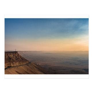 Carte Postale Cratère de Mizpe Ramon, Israël