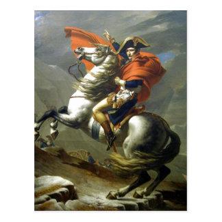 Carte Postale Créateur : Napoléon de Jacques-Louis David ?
