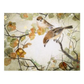 Carte postale Créature-Taureau-dirigée peu de