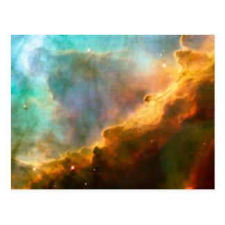 Carte Postale Crèche stellaire de nébuleuse d'Omega