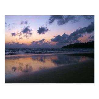 Carte Postale Crépuscule à la plage de Karon