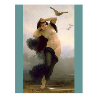 Carte Postale Crépuscule par Bouguereau